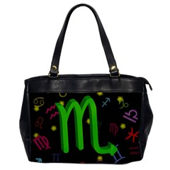 Scorpio Floating Zodiac Sign Office Handbags by theimagezone