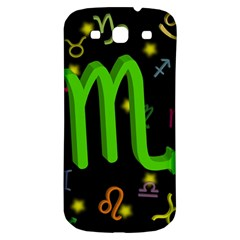 Scorpio Floating Zodiac Sign Samsung Galaxy S3 S Iii Classic Hardshell Back Case by theimagezone
