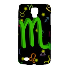 Scorpio Floating Zodiac Sign Galaxy S4 Active by theimagezone
