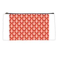 Awesome Retro Pattern Red Pencil Cases by ImpressiveMoments