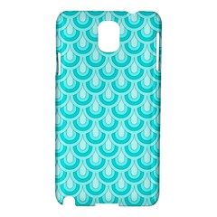 Awesome Retro Pattern Turquoise Samsung Galaxy Note 3 N9005 Hardshell Case by ImpressiveMoments