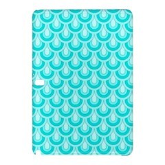 Awesome Retro Pattern Turquoise Samsung Galaxy Tab Pro 12 2 Hardshell Case by ImpressiveMoments