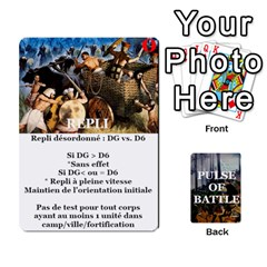 Pulse Of Battle Romain By Antoine Bourguilleau   Playing Cards 54 Designs   Mx3a2h7877b0   Www Artscow Com Front - Spade2