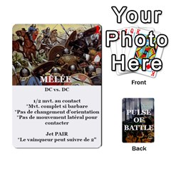 Pulse Of Battle Romain By Antoine Bourguilleau   Playing Cards 54 Designs   Mx3a2h7877b0   Www Artscow Com Front - Heart6