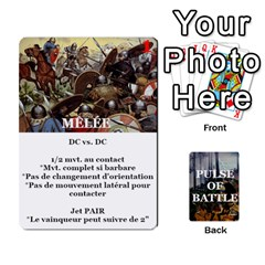 Pulse Of Battle Romain By Antoine Bourguilleau   Playing Cards 54 Designs   Mx3a2h7877b0   Www Artscow Com Front - Heart9