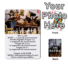 Ace Pulse Of Battle Romain By Antoine Bourguilleau   Playing Cards 54 Designs   Mx3a2h7877b0   Www Artscow Com Front - HeartA