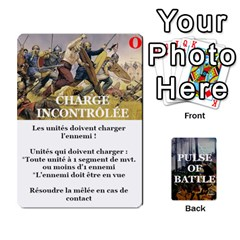 Pulse Of Battle Romain By Antoine Bourguilleau   Playing Cards 54 Designs   Mx3a2h7877b0   Www Artscow Com Front - Spade5