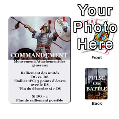 Queen Pulse Of Battle Romain By Antoine Bourguilleau   Playing Cards 54 Designs   Mx3a2h7877b0   Www Artscow Com Front - DiamondQ