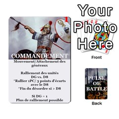Ace Pulse Of Battle Romain By Antoine Bourguilleau   Playing Cards 54 Designs   Mx3a2h7877b0   Www Artscow Com Front - DiamondA