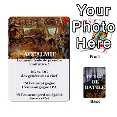 Pulse Of Battle Romain By Antoine Bourguilleau   Playing Cards 54 Designs   Mx3a2h7877b0   Www Artscow Com Front - Club5