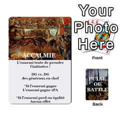 Pulse Of Battle Romain By Antoine Bourguilleau   Playing Cards 54 Designs   Mx3a2h7877b0   Www Artscow Com Front - Club6
