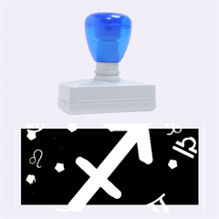 Sagittarius Floating Zodiac Sign Rubber Stamps (large) by theimagezone