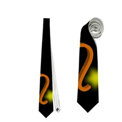 Pisces Floating Zodiac Sign Neckties (one Side)  by theimagezone
