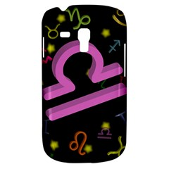 Libra Floating Zodiac Sign Samsung Galaxy S3 Mini I8190 Hardshell Case by theimagezone