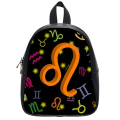 Leo Floating Zodiac Sign School Bags (small)  by theimagezone
