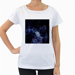 Space Like No 3 Women s Loose Fit T Shirt (white) by timelessartoncanvas