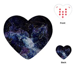 Space Like No 3 Playing Cards (heart)  by timelessartoncanvas
