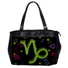 Capricorn Floating Zodiac Sign Office Handbags by theimagezone