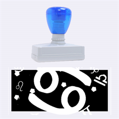 Cancer Floating Zodiac Sign Rubber Stamps (large) by theimagezone