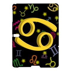 Cancer Floating Zodiac Sign Samsung Galaxy Tab S (10 5 ) Hardshell Case  by theimagezone