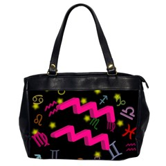 Aquarius Floating Zodiac Sign Office Handbags (2 Sides)  by theimagezone
