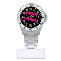 Aquarius Floating Zodiac Sign Nurses Watches by theimagezone