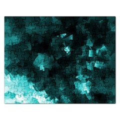 Space Like No 5 Rectangular Jigsaw Puzzl by timelessartoncanvas
