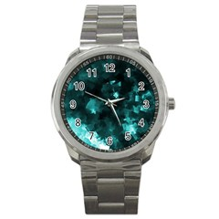 Space Like No 5 Sport Metal Watches by timelessartoncanvas