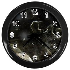 Space Like No 6 Wall Clocks (black) by timelessartoncanvas