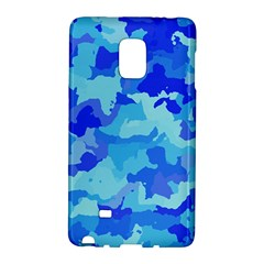 Camouflage Blue Galaxy Note Edge by MoreColorsinLife