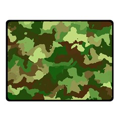 Camouflage Green Fleece Blanket (Small) by MoreColorsinLife