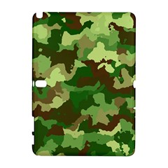 Camouflage Green Samsung Galaxy Note 10.1 (P600) Hardshell Case by MoreColorsinLife