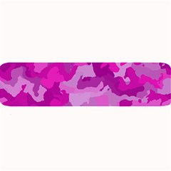 Camouflage Hot Pink Large Bar Mats by MoreColorsinLife