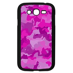 Camouflage Hot Pink Samsung Galaxy Grand DUOS I9082 Case (Black) by MoreColorsinLife