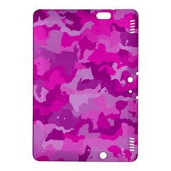 Camouflage Hot Pink Kindle Fire HDX 8.9  Hardshell Case by MoreColorsinLife