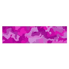 Camouflage Hot Pink Satin Scarf (oblong) by MoreColorsinLife