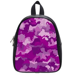 Camouflage Purple School Bags (small)  by MoreColorsinLife