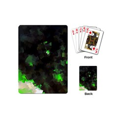 Space Like No 7 Playing Cards (mini)  by timelessartoncanvas