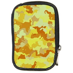 Camouflage Yellow Compact Camera Cases by MoreColorsinLife