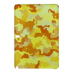Camouflage Yellow Samsung Galaxy Tab Pro 12 2 Hardshell Case by MoreColorsinLife