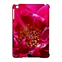 Red Rose Apple Ipad Mini Hardshell Case (compatible With Smart Cover) by timelessartoncanvas