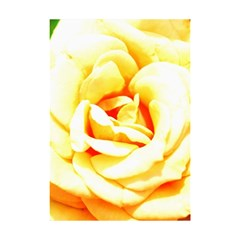 Orange Yellow Rose Shower Curtain 48  X 72  (small)  by timelessartoncanvas