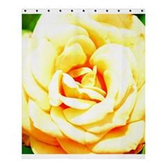 Orange Yellow Rose Shower Curtain 60  X 72  (medium)  by timelessartoncanvas