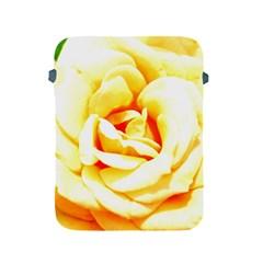 Orange Yellow Rose Apple Ipad 2/3/4 Protective Soft Cases by timelessartoncanvas
