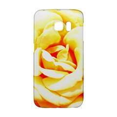 Orange Yellow Rose Galaxy S6 Edge by timelessartoncanvas