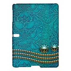 Wonderful Decorative Design With Floral Elements Samsung Galaxy Tab S (10 5 ) Hardshell Case