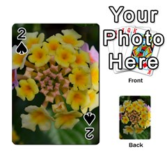 Colorful Flowers Playing Cards 54 Designs