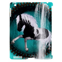 Beautiful Horse With Water Splash  Apple Ipad 3/4 Hardshell Case (compatible With Smart Cover) by FantasyWorld7