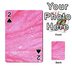 Pink Playing Cards 54 Designs  by timelessartoncanvas