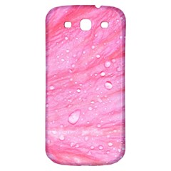 Pink Samsung Galaxy S3 S Iii Classic Hardshell Back Case by timelessartoncanvas